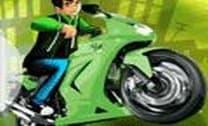Corrida de moto Ben 10