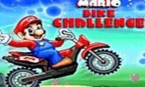 Corrida de moto com Mario