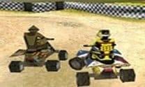 Corrida quadriciclo 3D