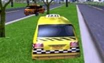 corrida de táxi 3D