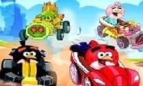 Corrida dos Angry Birds