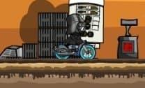 Corrida irada com a Bike