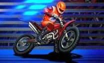 Corrida livre de moto