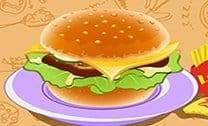Cozinhe O Hambúrguer Perfeito