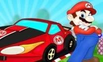 De carro com Mario