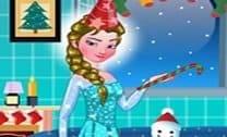 Decoração de Quarto de Princesa Elsa Xmas