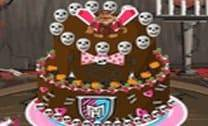 Decorar bolo das Monster High