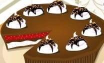 Decorar Bolo de Chocolate
