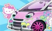Decorar carro da Hello Kitty