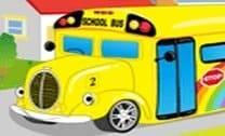 Decorar o ônibus escolar