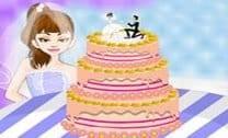 Decorar um lindo bolo