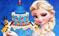 Decore O Bolo Rainha Elsa
