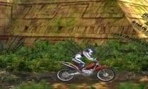 Desafio de Moto nas Ruinas