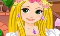 Design de Cortes de Cabelo de Rapunzel