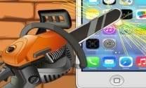Destruição em Iphone