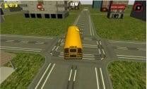 Dirigindo o Ônibus da Escola 3D