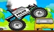 Dirigir o carro da polícia