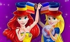 Disney Princesses Euro 2016