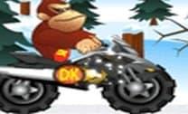 Donkey Kong aventura na neve