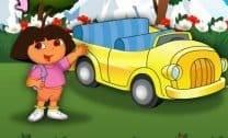 Dora at Car Show