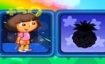Dora Aventureira Escolhendo Frutas