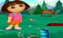 Dora Aventureira no Camping