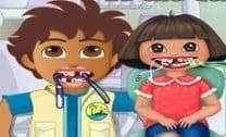 Dora E Diego No Dentista