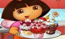 Dora e os Bolinhos