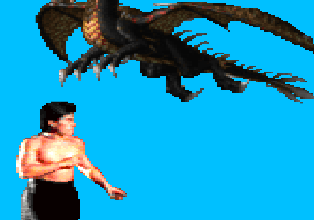 Dragões VS Liu Kang