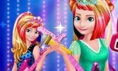 Elsa And Anna Royals Rock Dress
