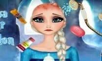 Elsa Cuidados Com O Cabelo