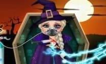 Elsa Emergência De Halloween
