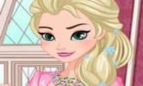 Elsa Love Declaração Colar