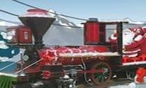 Entrega de Trem a Vapor Santa