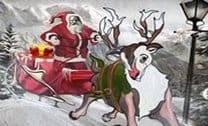 Entregando Presentes Com O Papai Noel