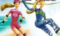 Esquiando com a Barbie