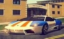 Estacionando O Carro Da Polícia 2