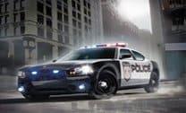 Estacionando O Carro Da Polícia 3