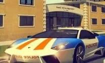 Estacionando Polícia