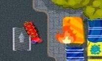 Estacionar caminhão de bombeiros