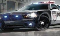 Estacionar carro de Policia