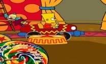 Família Simpson no circo