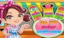 Fazendo Ice Pops Multi Cores