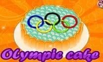Fazer bolo das olimpíadas