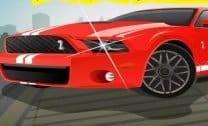 Fod Mustang no Estacionamento