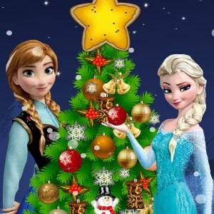 Frozen Árvore De Natal