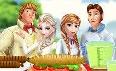 Frozen Family at the Picnic