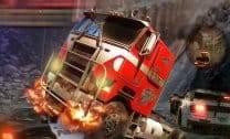 Fuja com seu super caminhão