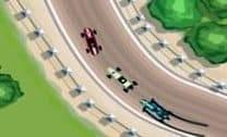 Grande corrida de carros