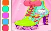 Hello Kitty Designer De Sapatos